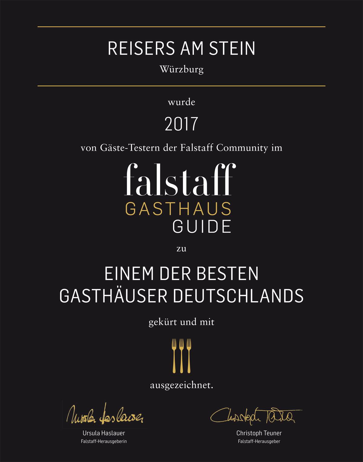 Falstaff-Urkunde
